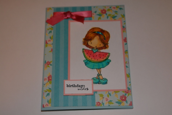 Lindy's Birthday Card