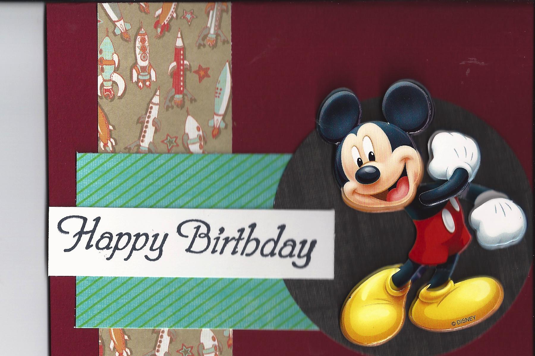Birthday card for Kellen