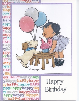 Kacey's First Birthday